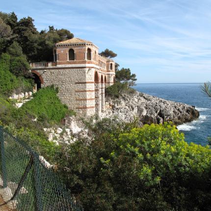 Sentier du Corbusier Chemin des douaniers, Roquebrune Cap Martin